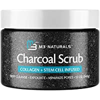 M3 Naturals 12 oz Charcoal Exfoliating Body Scrub