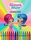 Shimmer and Shine Coloring Book: Shimmer and Shine, and their lovely human friend Leah to life by coloring them beautifully