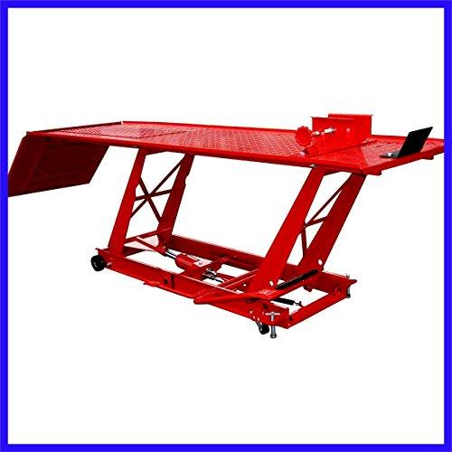 Lift Bike Stand Jack Table 1000 LB Capacity ATV Motorcycle Heavy Duty Construction - House Deals