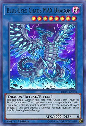Yu-Gi-Oh! - Blue-Eyes Chaos MAX Dragon - DUPO-EN048 - Ultra Rare - 1st Edition - Duel Power