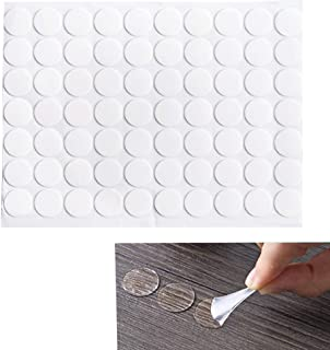 210 Count Transparent Double-Sided Tape Stickers Round Acrylic No Traces Adhesive Sticker Creative Super Sticky Waterproof...