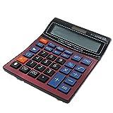 Taschenrechner Solar und Batterie Bürorechner Einfache Rechenmaschine 12-stellig Standard Funktion