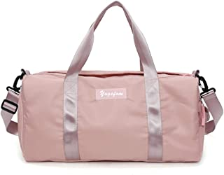 Womens Pink Overnight Weekend Bag Gym Holdall Ladies Girls Sports Travel Bags