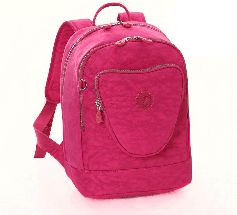 SLH Nylon Backpack Female Wild Backpack Canvas Leisure Backpack Student Bag Small Bag