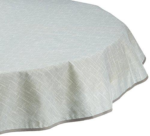 BEST Tischdecke, rund 130 cm, grau