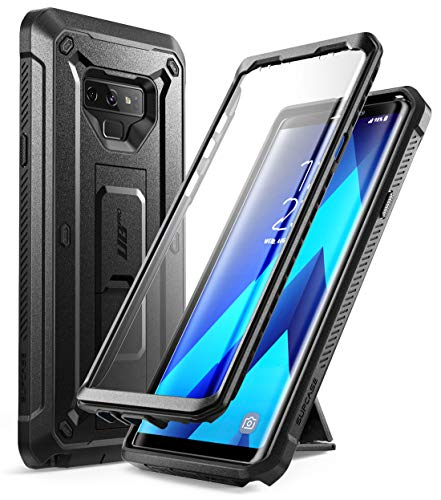 SupCase Samsung Galaxy Note 9 Hülle 360 Grad Handyhülle Outdoor Case Robust Schutzhülle Cover [Unicorn Beetle PRO] mit integriertem Bildschirmschutz & Ständer für Galaxy Note 9 2018 (Schwarz)
