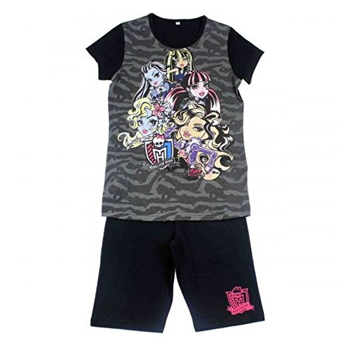 Monster High Conjunto Pantalones Cortos y Camiseta - 8 anos