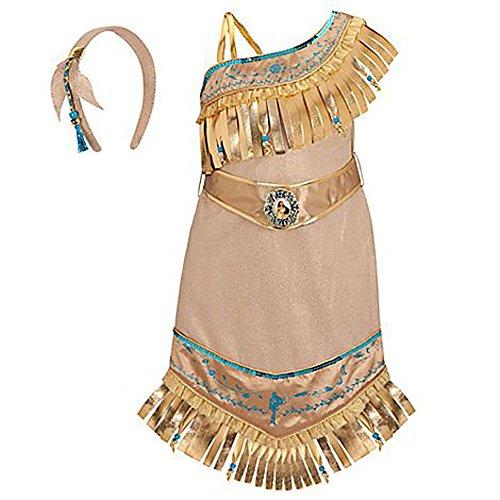 Disney Store Princess Pocahontas Costume for Girls Size XXS 2/3