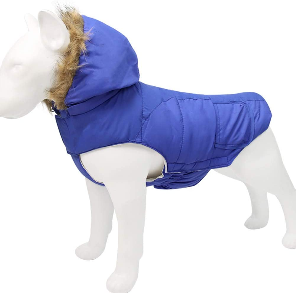 XDYFF Dog Clothes for Small low-pricing Max 71% OFF Dogs Hooded Vest Winter Jacket Warm