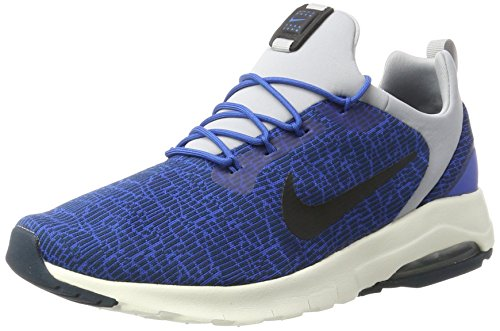 Nike Air Max Motion Racer, Scarpe da Ginnastica Basse Uomo, Blu (Blue Jay/black-armory Navy-wolf Grey-sail), 42 EU