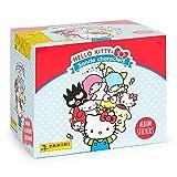 Hello Kitty- Caja 50 Sobres, Color Azul, Rosa (Panini España