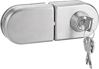Cerradura de seguridad, Cerradura para puerta de cristal, Cerradura de seguridad antirrobo de la puerta de cristal del acero inoxidable 10~12mm con las llaves Abra/cierre el uso casero del cuarto