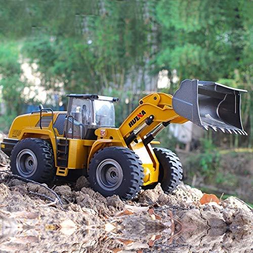 RC Auto kaufen Baufahrzeug Bild 6: s-idee® 18168 Metall Radlader 1:14 Profi mit Sound und Licht die Cast rc Modell Huina 583 1583*