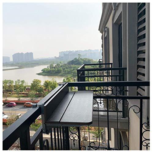 Mesa Plegable de Aluminio para el hogar, balcón, para Colgar en la...
