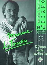 Maxime le Forestier : recueil spécial piano n° 3 + 1cd