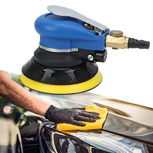 SALALIS Máquina pulidora neumática, con Almohadilla de Rueda Equilibrada y Estable Suministros de Mantenimiento de automóvil de bajo Ruido Volumen pequeño para automóvil