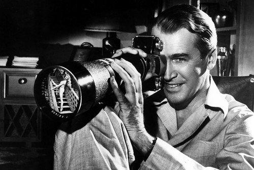 James Stewart Exakta Kamera für Heckscheibe, 28 x 43 cm