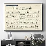 ganlanshu Yoga Serie de la Escuela Primaria Carteles e Impresiones decoración Mural Pintura sobre Lienzo Sala de Estar decoración del hogar,Pintura sin marco-60X90cm
