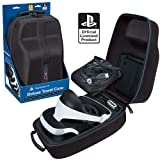 Sony PlayStation VR Headset and Accessories Carrying Case – Protective Deluxe Travel Case – Black Ballistic Exterior – Official Sony Licensed Product