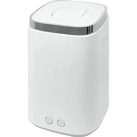 [山善] スチーム式 加湿器 加熱式 上部給水方式 (最大加湿 500ml) (タンク容量 2.4L) (木造~8.5畳 / プレハブ洋室~14畳) ホワイト KS-J241(W) [メーカー保証1年]