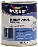 BRUGUER 5057426 ESM.ACRYLIC BTE.NEGRO 750 ML, Estándar