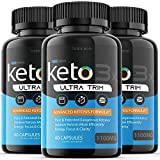 (3 Pack) Keto Trim Pill Weight Loss Diet Pills 1100 mg Shark Tank Advanced Loss Extra Strength Formula Fast Pills (180 Capsules)