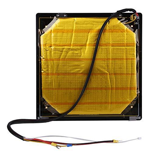 Creality Kit de cama caliente de aluminio 3D 24V con cable instalado para impresora 3D CR-10S Pro,...