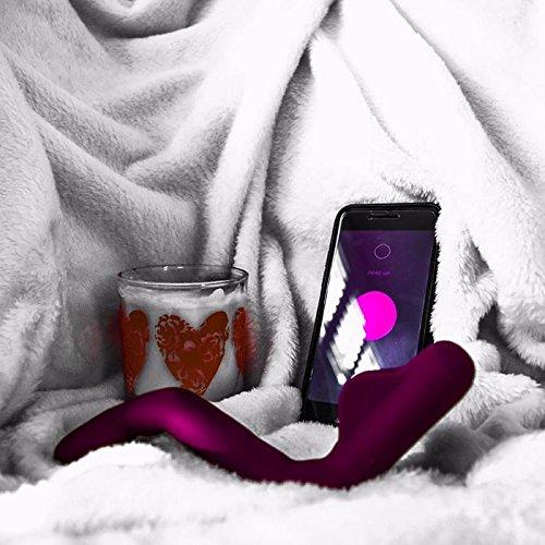MysteryVibe Crescendo: Der Fortgeschrittenste Vibrator Der Welt Anpassbar, Biegsam, Flexibel, Drahtlos Ladbar, 100 Wasserdicht, Smart, Freie Hände, 6 Motoren, App-gesteuert, Körpermassage eisblau