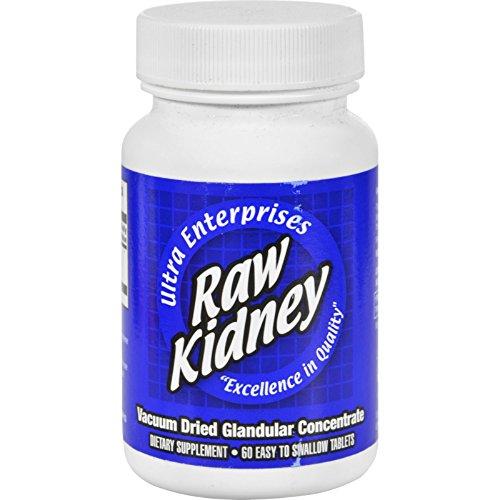 Ultra Glandulars Raw Kidney - 200 mg - 60 Tablets...