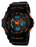 Classical Fashion Kids Digital Sports Watches -Farsler 50M Waterproof LED Light Electronic Sport