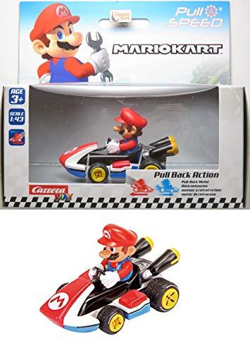Mario - Mario Kart 8 - Fricção - 1/43 - Carrera Play