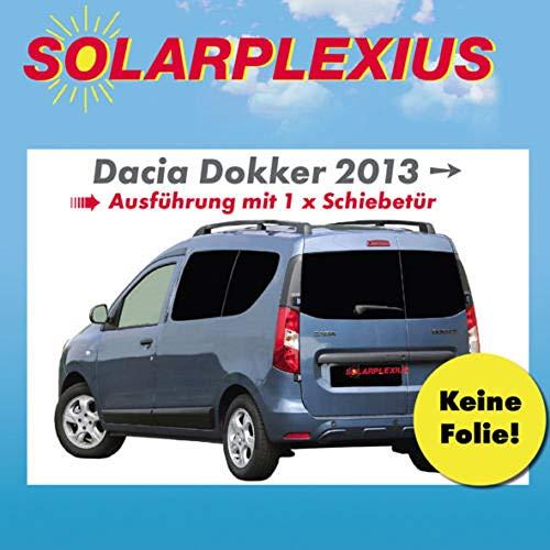 Solarplexius Sonnenschutz Autosonnenschutz Scheibentönung Sonnenschutzfolie DOKKER mit Einer Schiebetür ab 13