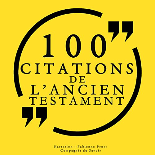 100 citations de l'Ancien Testament audiobook cover art