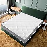 Luxury - Materasso Zen 90 x 190 cm, in memory foam, adattabile, sistema in schiuma HR a 10 zone di comfort, 20 cm (+/-2 cm), tutte le dimensioni