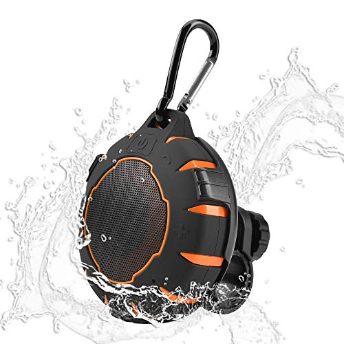 Bluetooth Speaker for Bike,Zares Waterproof Wireless Bicycle Speaker with Mount,Portable Speaker with Loud Sound and 10h Playtime, IP67 Waterproof,Outdoor Speaker for Riding, Travelling and Camping