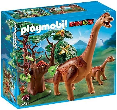 mejor opcion Playmobil - - - Braquiosaurius con bebé (5231)  descuento de ventas