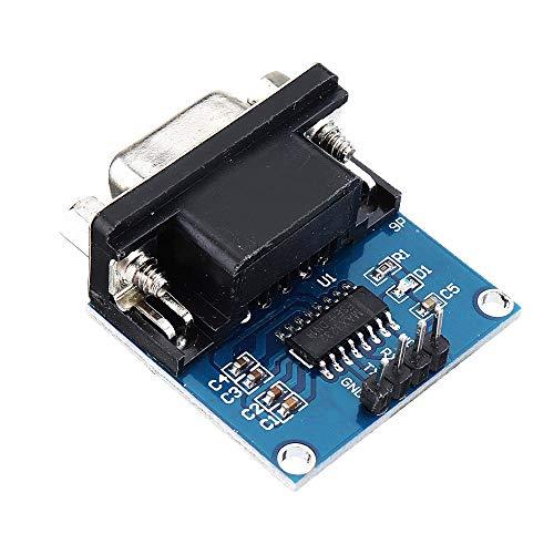 Módulo electrónico DC5V MAX3232 MAX232 RS232 A TTL Módulo convertidor de comunicación...