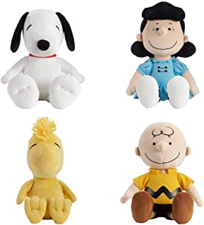 Set of 4 Kohl's Cares Snoopy, Charlie Brown, Lucy & Woodstock Plus