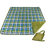 REDCAMP XL Picnic Blanket Water Resistant Sandproof, Extra Large Picnic Mat Washable with Zipper, Folding Portable for Family Outdoor Camping Outside Park Beach