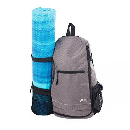 Yoga-Rucksack TRIKONASANA, coole & praktische Tasche für Sport & Yoga, ob mit oder ohne Matte,...