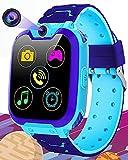 Vannico Reloj Inteligente Niño, Musica Smartwatch Game Watch 1.54 Pantalla Táctil 16 Juegos SOS Cámara Llamada para...