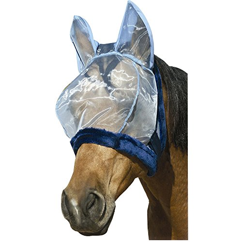 Intrepid International Charlie Bug-Off Shield Fly Mask with Ears Large Horse