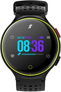 JSGJSH 2018 New Smart Bracelet X2 Plus Bluetooth Smartwatch Heart Rate Tracker IP68 Waterproof Ultra-Long Standby for iOS Android Phone Fashion Smart Watch