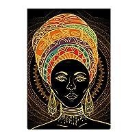 庭の旗 美しい アフリカ女性 両面バナー バナー旗 屋外庭の装飾 吊り下げ式 アウトドア旗 キャンプフラッグ パーティー飾り 水洗い可能 耐久性 記念日 クリスマス 簡単に取り付け ハロウィンの装飾 文化祭 47*32cm
