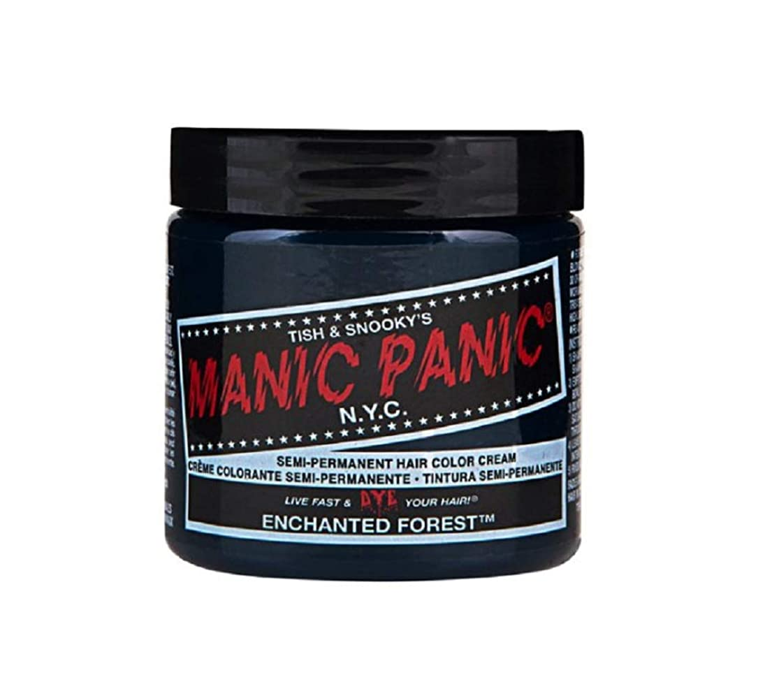 自宅で魂不完全なマニックパニック MANIC PANIC ヘアカラー 118mlエンチャンティッドフォレスト ヘアーカラー