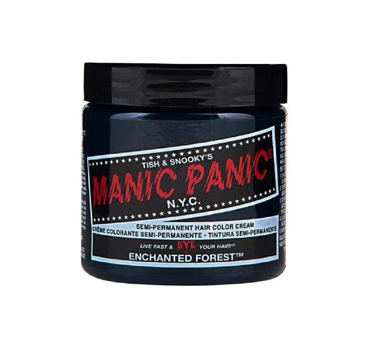 油湾器官マニックパニック MANIC PANIC ヘアカラー 118mlエンチャンティッドフォレスト ヘアーカラー