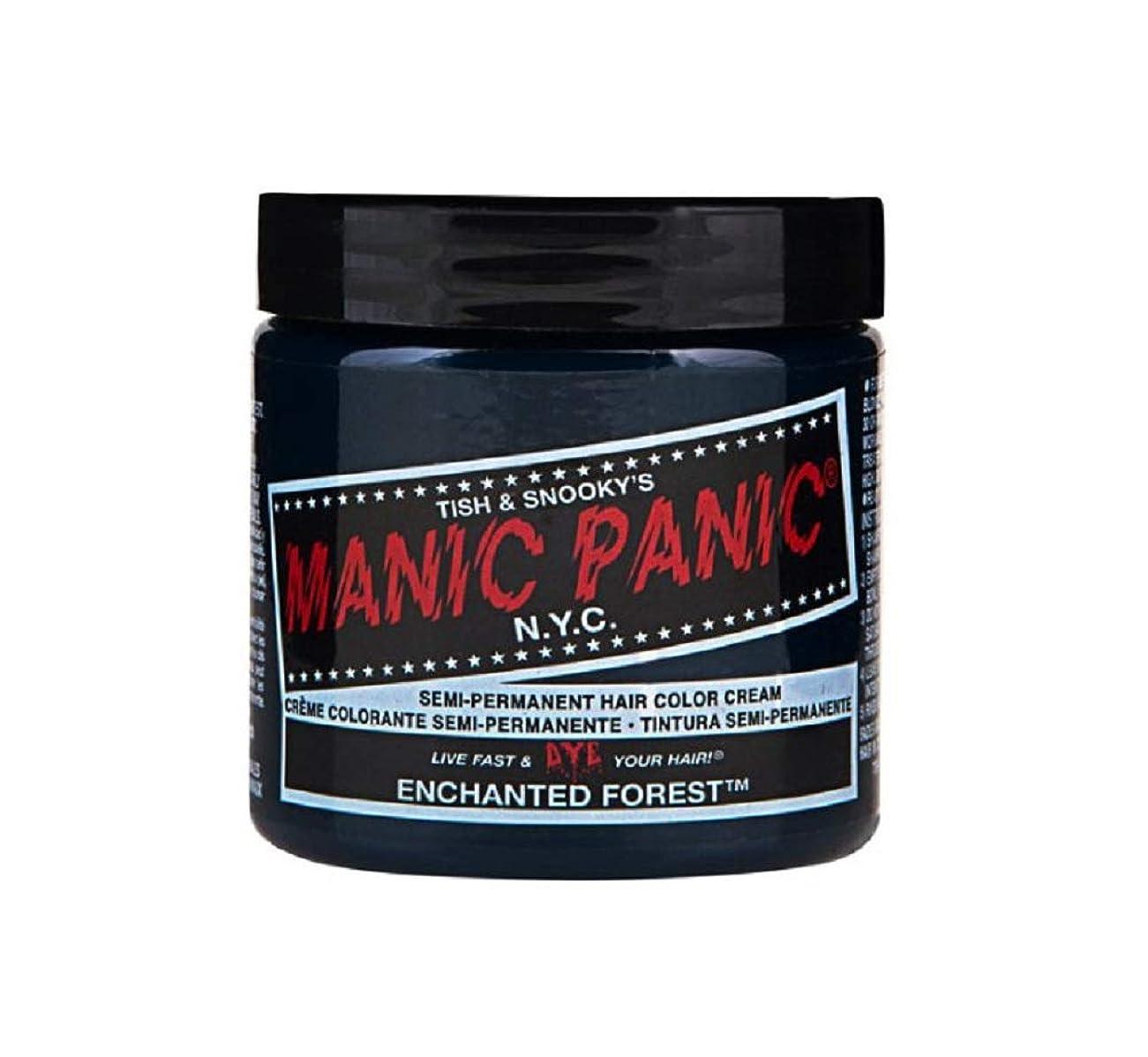 完全に私たち首尾一貫したマニックパニック MANIC PANIC ヘアカラー 118mlエンチャンティッドフォレスト ヘアーカラー