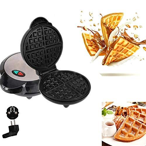 POWER BANKS Waffeleisen, Steak Elektrogrill Automatische Temperaturregelung Leicht zu reinigender Sandwich Omelettmacher Frühstücksgrill