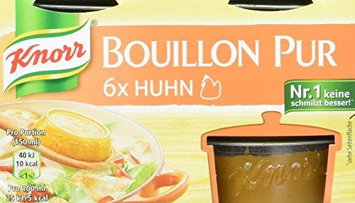 Knorr Bouillon Pur (für den vollmundigen Geschmack Huhn) 4 x 168 g
