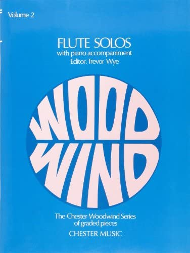Flute Solos Volume Two with Piano Accompaniment The Chester Woodwind Series of Graded Pieces product image